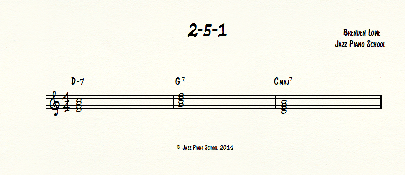 2 5 1 Jazz Piano School