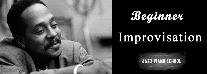 Learn jazz piano improvisation