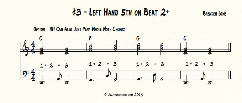 #3-Left-Hand on beat 2+