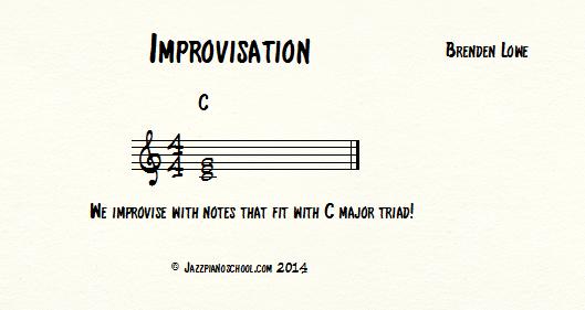 How The Heck Do I Start Improvising w/ jazz piano chords