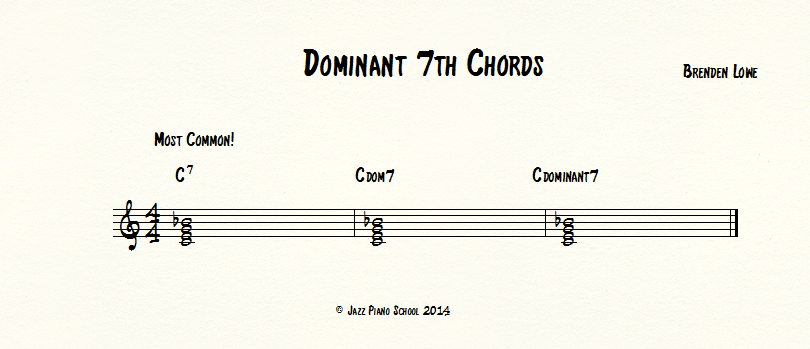 dominant-7th-chords - Jazz Piano School