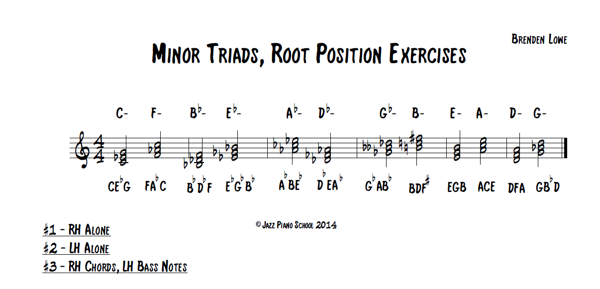 minor-triads