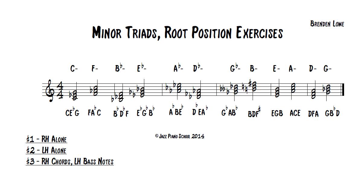 B Minor Piano Chord Jazz Piano School, Ep ...