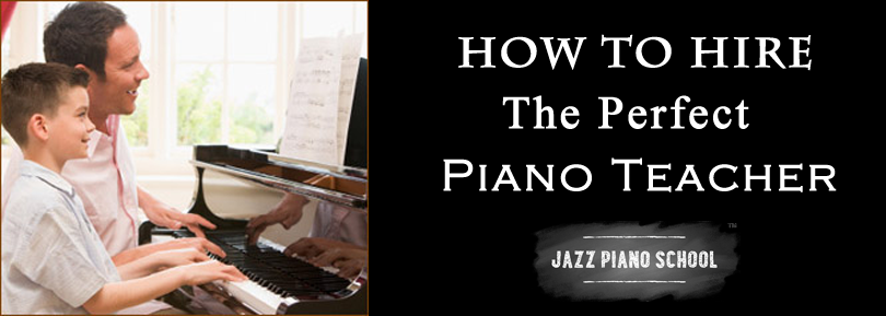 How To Hire A Piano Teacher