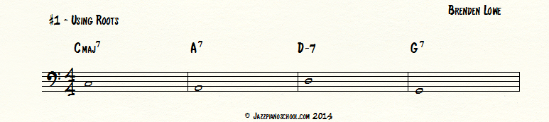 jazz piano school walking bass lines