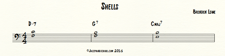 shells jazz piano voicing