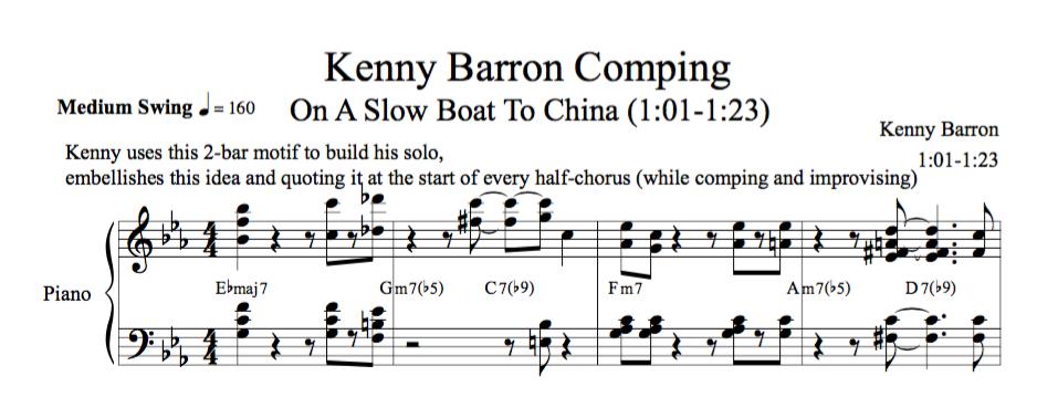 Transcription Barron