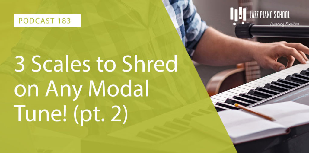 Learn these 3 scales to shred on any modal tune