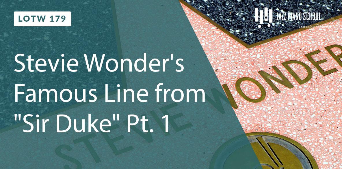 """Learn Stevie Wonder's Famous Line from """"Sir Duke"""""""