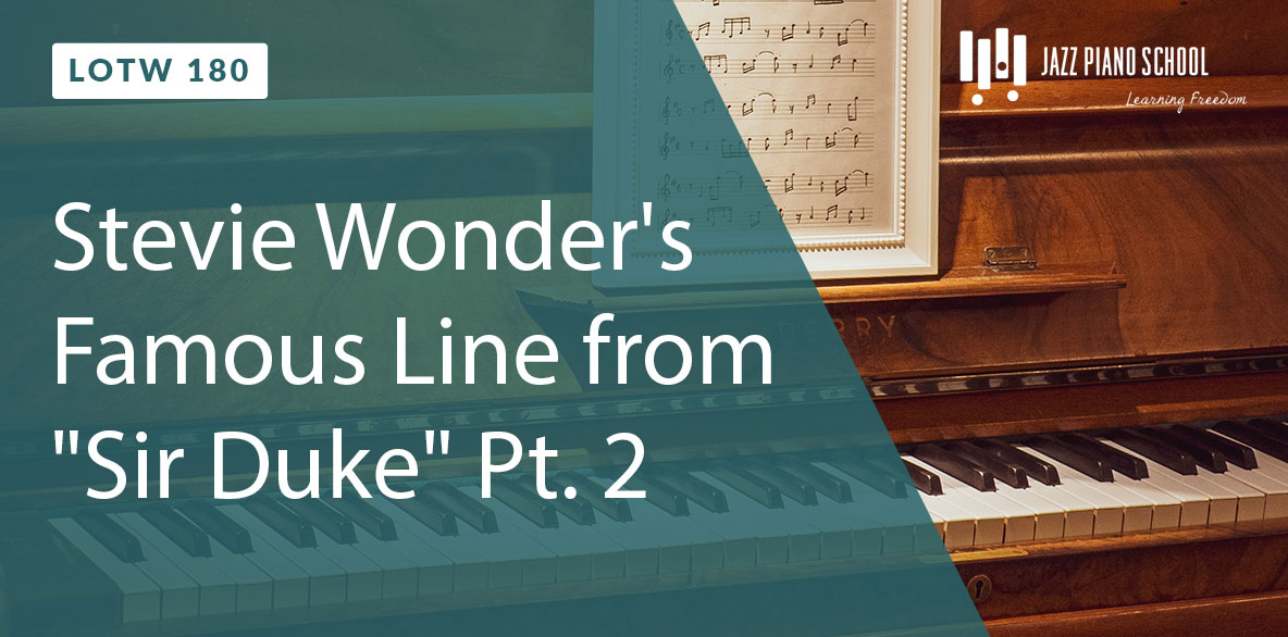 """Stevie Wonder's Famous Line from """"Sir Duke"""""""