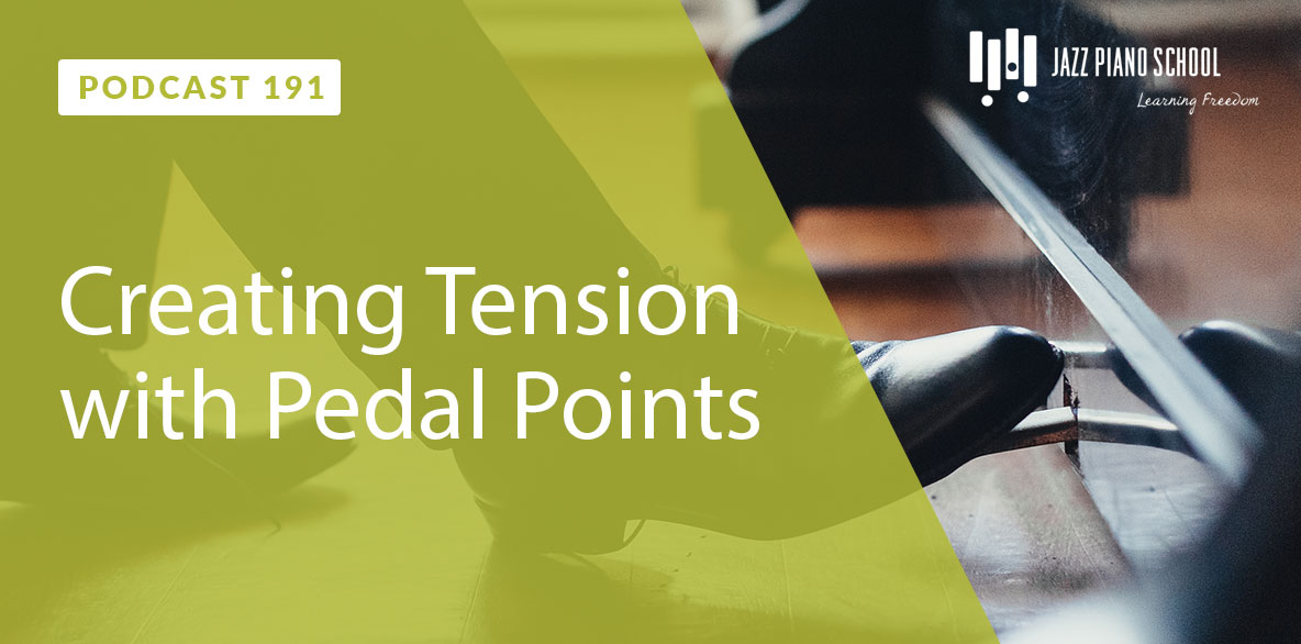 Learn how to create tension with pedal points