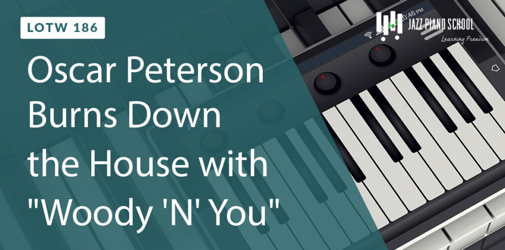 Listen as Oscar Peterson burns down the house