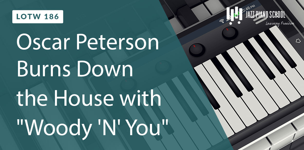 Listen as Oscar Peterson burns down the house