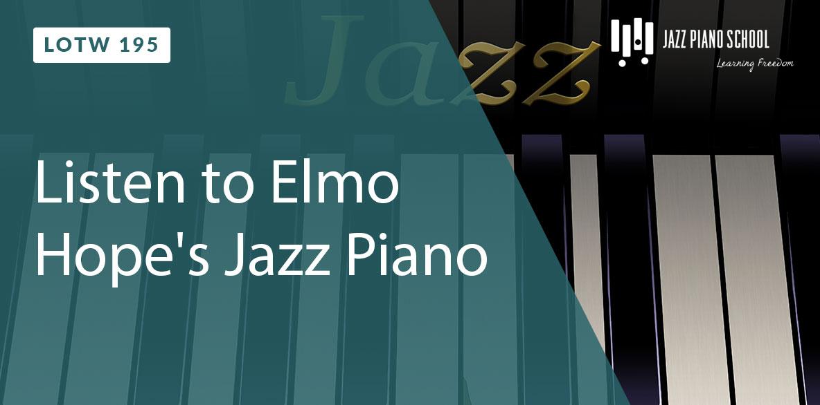 Listen to Elmo Hope's Jazz Piano