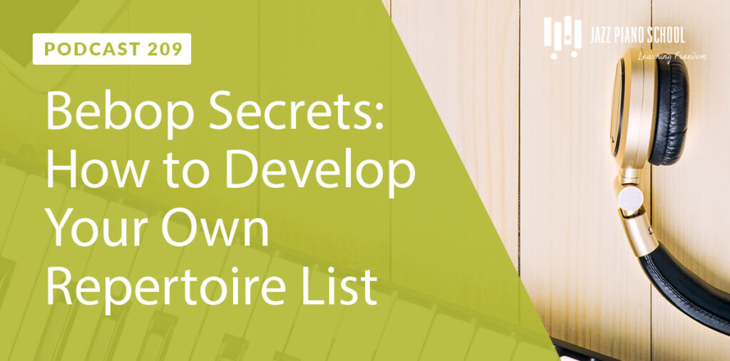 How to develop your own repertoire list