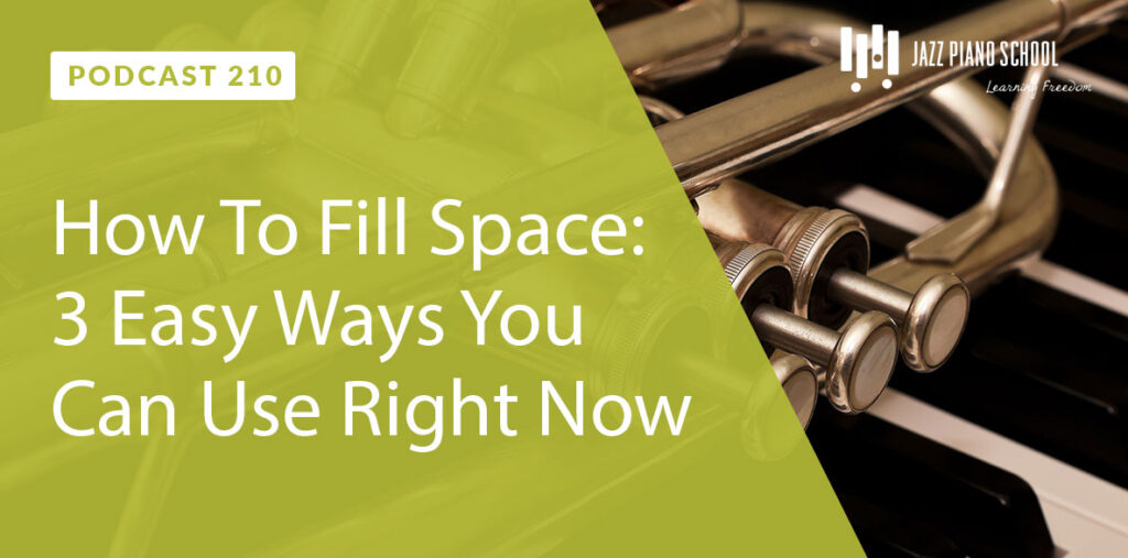 Learn how to fill space with these 3 things that you can use right now