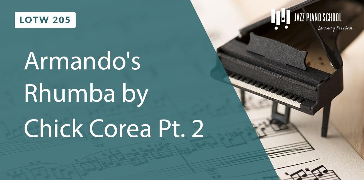 Armando's Rhumba by Chick Corea Pt. 2