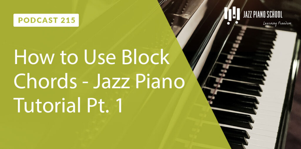 How to use block chords