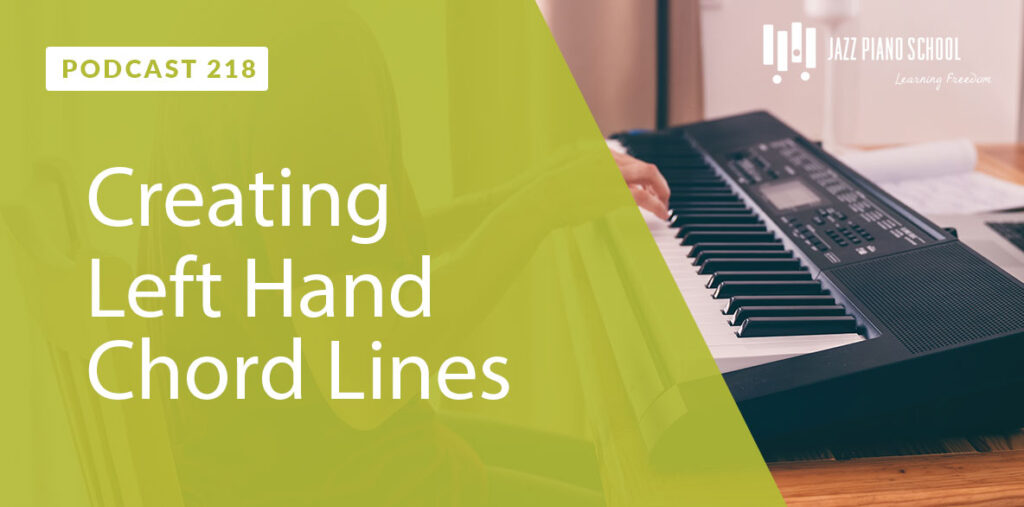 Creating Left Hand Chord Lines